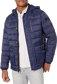Kenneth Cole 男式羽绒替代外套