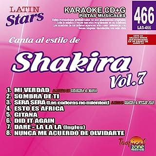 卡拉 OK Shakira 拉丁星 466 Vol.7