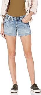 Silver Jeans Co. 女士男友中腰短裤