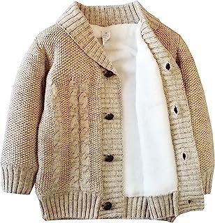 男婴女孩运动衫毛衣幼儿开衫保暖外套夹克