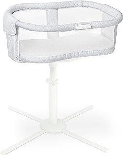 HALO® Sleep BassiNest® Essentia Swivel Sleeper Midnight Mist,360° 可旋转婴儿床,适合新生儿,男女通用,0-5个月