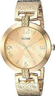 GUESS 男 女U1228L2 Analog 不锈钢 金色 U1228L2 watches