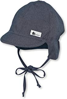 Sterntaler 思丹乐 男婴帽子 带遮阳帽
