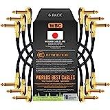 6 个 - 15.24 cm – 踏板、效果、补丁、仪器电缆由 WORLDS *好的电缆定制 - 使用 Mogami 2…