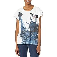 Tommy Hilfiger 汤米·希尔费格 女式经典短版 T 恤