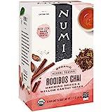 Numi Organic Tea 南非博士茶印度茶,18袋,不含咖啡因草本茶,南非博士茶混合印度茶(包装可能会变化),优…
