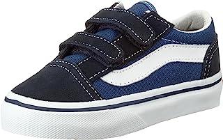 Vans Old Schools Valcanised 中性儿童运动鞋,