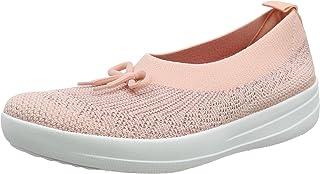 FitFlop 女士 Uberknit 一脚蹬芭蕾舞鞋