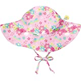I PLAY BABY 女童 BRIM 遮阳帽 Light Pink Dragonfly Floral 2T/4T Br…