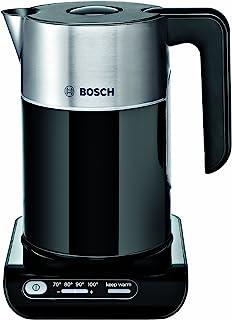 Bosch TWK8633 Styline Collection Cordless Jug Kettle, 1.5 L - Black
