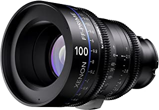 Schneider-Kreuznach 1085553 Cine 镜头,FF-Prime T2.1/100毫米,Sony 索尼 E / m 黑色