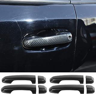 2017-2020 丰田 4Runner 汽车门把手盖装饰(碳纤维图案)