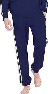 State Fusio 男式羊毛羊绒休闲运动衫连帽衫/裤子,透气防异味