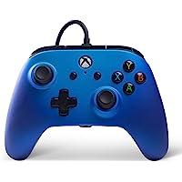 PowerA 增强版无线控制手柄 适用于Xbox One- 蓝宝石色(xbox_one)