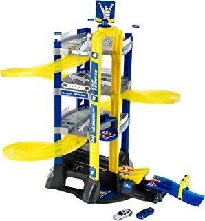 Theo Klein 3400 米其林服务 4 级 I 停车场,包括汽车、海锯和跳坡 I 尺寸:76.5 厘米 x 62 厘米 x 75.5 厘米 I Toy 适合 3 岁以上儿童