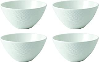 "Wedgwood Gio 蘸料碗套装, 4个,白色,4.7""(约11.94厘米),2.4""(约6.10厘米)"