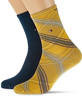 Tommy Hilfiger 汤美费格 女士短袜(2 件装)