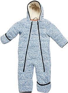 Ben Sherman 男婴防雪服 - 毛衣羊毛内衬冬季婴儿车套装(婴儿/新生儿)