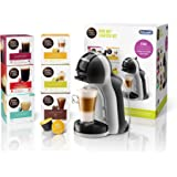 De'Longhi 德龙 NescaféDolce Gusto Mini Me 单份胶囊咖啡机入门套件,包括6盒咖啡盒…
