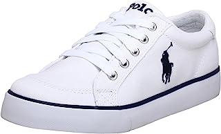 Polo Ralph Lauren 中性童 帆布鞋 P11FW91840C 白色 30.5