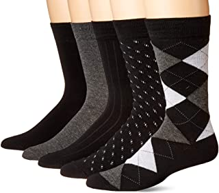 KM Legend 男士正装袜,5 双装