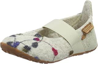 Bisgaard 女童拖鞋 羊毛芭蕾舞鞋