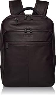 Kenneth Cole Reaction 曼哈顿 16 英寸皮革 RFID 笔记本电脑背包 - TSA 认证 - 适合*大 16 英寸笔记本电脑和平板电脑