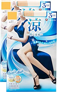Fukuke 福助 连裤袜 (3双装×2)6双装 女士