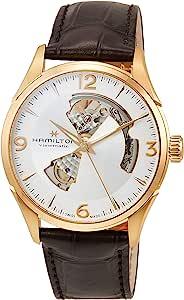 Hamilton Jazzmaster Open Heart 自动银色表盘男式手表 H32735551