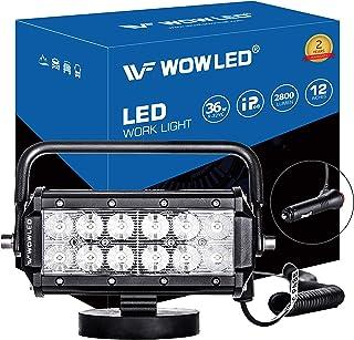 WOWLED 便携式 27W 36W LED 工作灯泛光灯磁底座 36w Magnetic Base Led Work Light