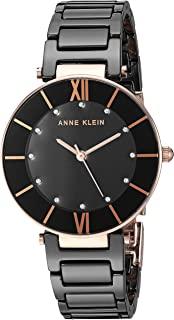 Anne Klein 安妮克莱因 AK/3266 施华洛世奇水晶点缀陶瓷手链手表