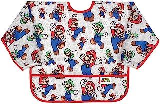Bumkins Nintendo Sleeved Bib Mario Classic 6-24 个月