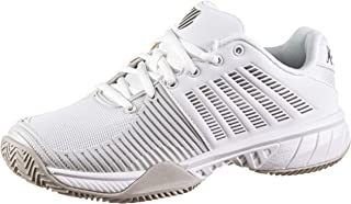 K-Swiss 女士 Ks Tfw Express Light 2 Hb-White/Gull Grey-m 网球鞋