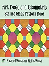 Art Deco and Geometric Stained Glass Pattern Book (Dover Stained Glass Instruction) (English Edition)