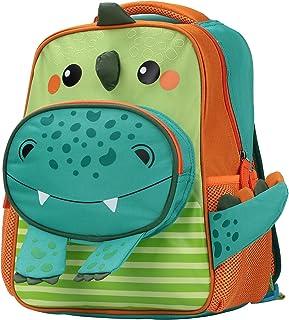 Sarhlio 幼儿背包可爱轻便耐用 600 旦涤纶防水书包,适合幼儿园 2-6 岁恐龙(TB13A1)