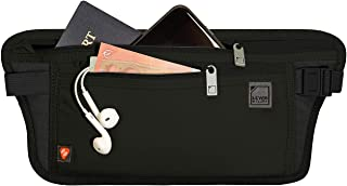 Lewis N. Clark 屏蔽防盗腰带隐藏式钱包 黑色 单一尺寸