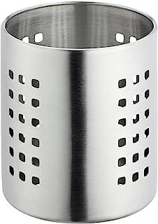 Lacor 不锈钢餐具架,银色,30 x 12 x 13.6厘米