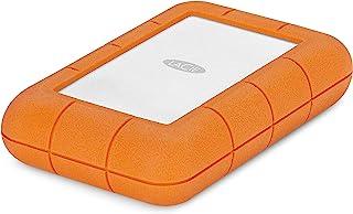 LaCie Rugged RAID Pro 4TB USB-C 便携式硬盘 + 1 mo Adobe CC 所有应用程序 (STGW4000800)