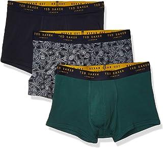Ted Baker 泰德贝克男式内裤弹力棉内裤,3 条装