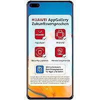 Huawei 华为 P40 双卡智能手机(15.5cm/6.1英寸,128GB内部存储,Android 10.0 AOS…
