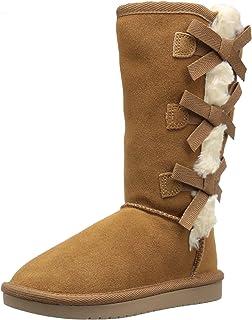 UGG Koolaburra 儿童款 Victoria 高筒时尚靴子