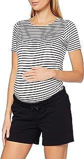 Supermom 女士短款黑色孕妇短裤