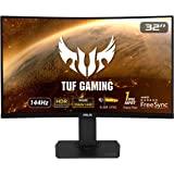 ASUS 华硕 TUF Gaming VG32VQ 81.28 厘米(32 英寸)显示器(WQHD,FreeSync,1…