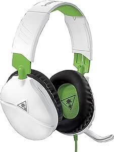 Turtle Beach Recon 70 游戏耳机,适用于 PlayStation 4 Pro、PlayStation 4、Xbox One、Nintendo Switch、PC 和手机 - PlayStation 4 白色/*