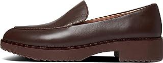 FitFlop Talia 女士皮革乐福鞋