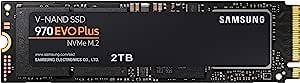 SAMSUNG 三星 970 EVO Plus SSD 2TB M.2 NVMe接口内部固态驱动器(MZ-V7S2T0B / AM),具有V-NAND技术