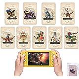 Monster Hunter Rise Amiibo 卡 MH Rise NFC 迷你卡带盒 兼容开关/Switch L…