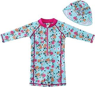 Sweegentle 女婴泳装连体泳衣 UPF 50+ - **服