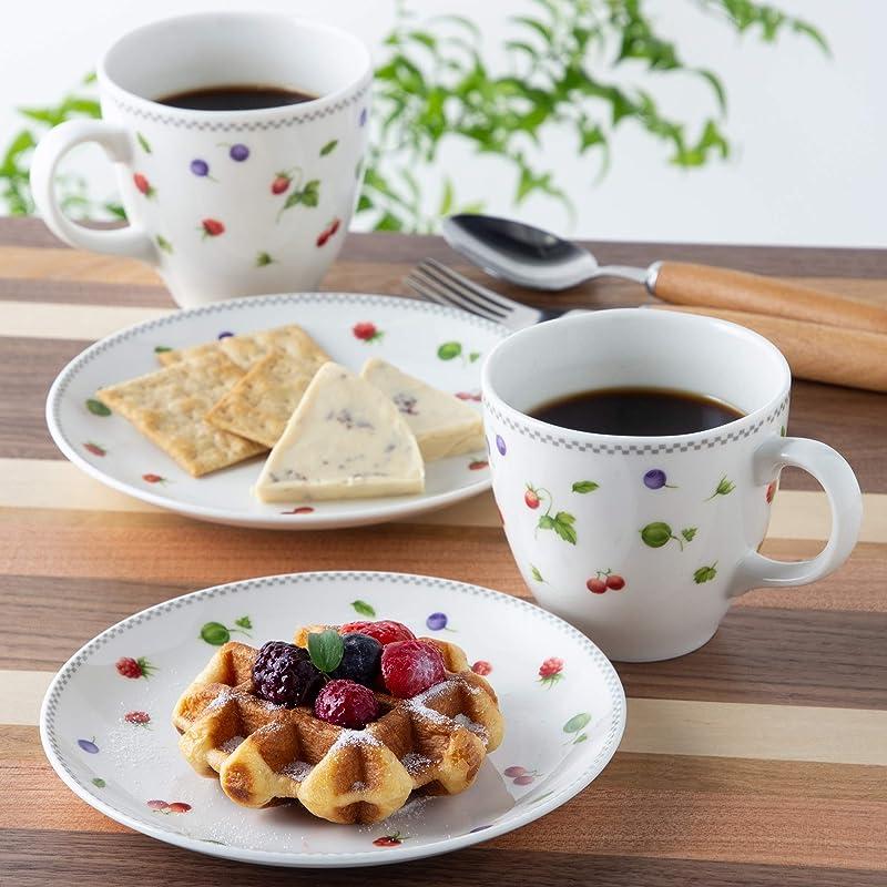 Narumi 鸣海 草莓花园系列 马克杯+餐盘4件套 镇店之宝¥190.14 可3件9折