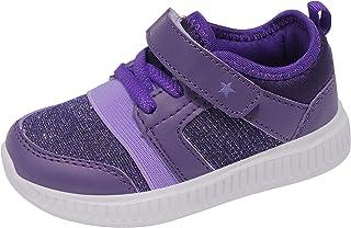 FEITAI 儿童跑步运动鞋轻便步行网眼一脚蹬鞋透气网球运动男生女童